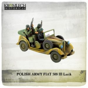 Kromlech   Vehicles & Vehicle Parts Polish Army FIAT 508 III Lazik - KHWW2019 - 5902216119017