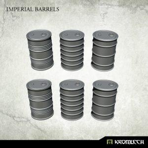 Kromlech   Kromlech Terrain Imperial Barrels (6) - KRBK032 - 5902216117877