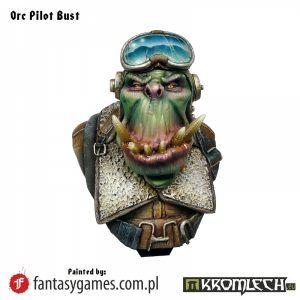 Kromlech   Kromlech Busts Orc Pilot Bust - KRBU001 - 5902216112018