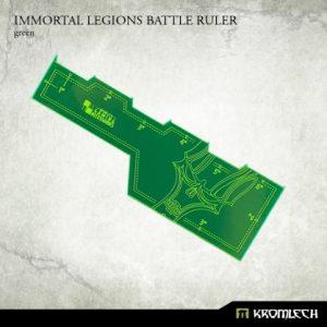 Kromlech   Tapes & Measuring Sticks Immortal Legions Battle Ruler [green] (1) - KRGA011 - 5902216114067
