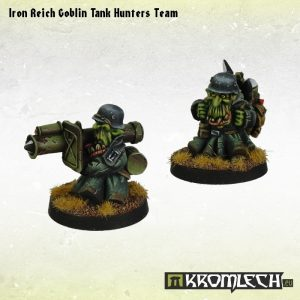 Kromlech   Orc Model Kits Iron Reich Goblin Tank Hunters Team - KRM081 - 5902216113220