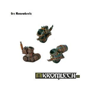 Kromlech   Orc Conversion Parts Monowheels (6) - KRCB007 - 5902216110052
