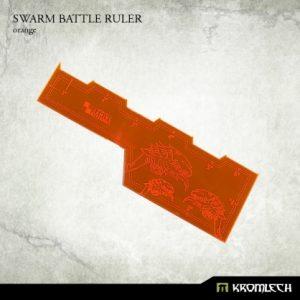 Kromlech   Tapes & Measuring Sticks Swarm Battle Ruler [orange] (1) - KRGA014 - 5902216114098