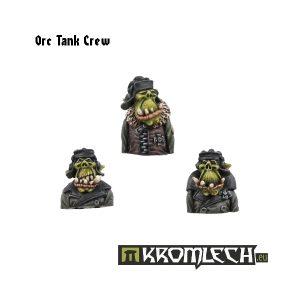 Kromlech   Orc Model Kits Orc Tank Crew (3) - KRM007 - 5902216111325