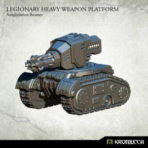 Kromlech   Legionary Model Kits Legionary Heavy Weapons Platform: Annihilation Beamer - KRM133 - 5902216115996