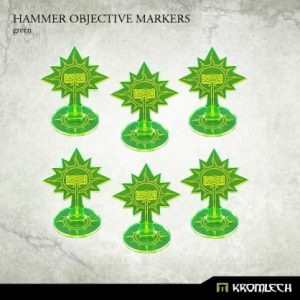 Kromlech   Objective Markers Hammer Objective Markers [green] (6) - KRGA038 - 5902216114333