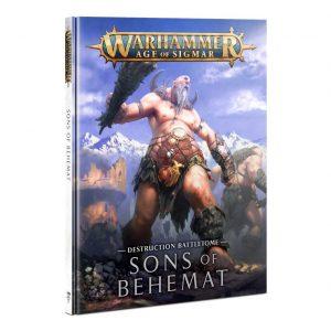 Games Workshop Age of Sigmar  Sons of Behemat Battletome: Sons of Behemat - 60030299004 - 9781788269797