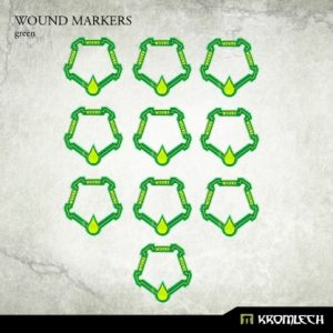 Kromlech   Status & Wound Markers Wound Markers [green] (10) - KRGA002 - 5902216112339