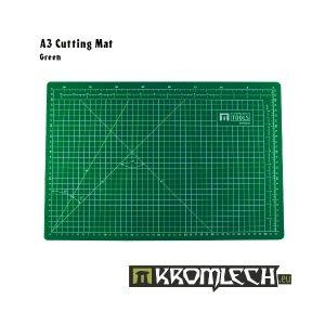 Kromlech   Cutting Mats Cutting Mat A3 Green - KRMA019GR - KRMA019GR