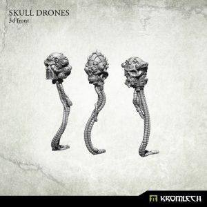 Kromlech   Basing Extras Skull Drones (6) - KRBK012 - 5902216114906