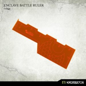 Kromlech   Tapes & Measuring Sticks Enclave Battle Ruler [orange] (1) - KRGA016 - 5902216114111