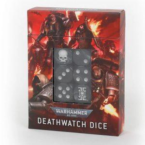 Games Workshop Warhammer 40,000  Games Workshop Dice Deathwatch Dice Set - 99220109001 - 5011921141623