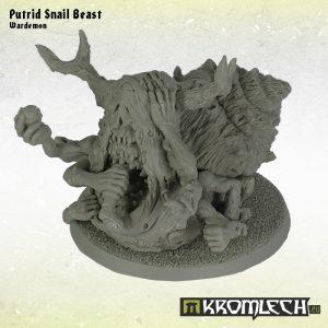 Kromlech   Heretic Legionary Model Kits Putrid Snail Beast - KRM077 - 5902216112742