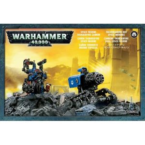 Games Workshop (Direct) Warhammer 40,000  Space Marines Space Marine Thunderfire Cannon - 99810101018 - 5011921024346