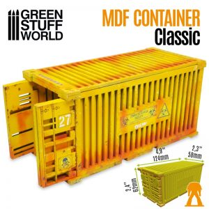 Green Stuff World   Green Stuff World Terrain Classic Shipping Container - 8436574508185ES - 8436574508185