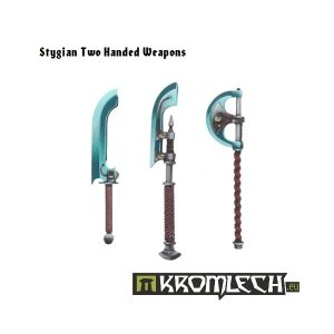 Kromlech   Misc / Weapons Conversion Parts Stygian Two-Handed Weapons (6) - KRCB018 - 5902216110168