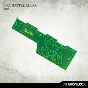 Kromlech   Tapes & Measuring Sticks Orc Battle Ruler [green] (1) - KRGA017 - 5902216114128