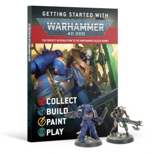 Games Workshop Warhammer 40,000  Warhammer 40000 Essentials Getting Started with Warhammer 40,000 - 60040199131 - 9781839060625