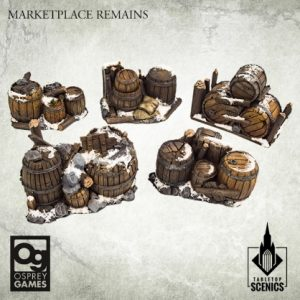 Kromlech Frostgrave  Kromlech Terrain Marketplace Remains [Frostgrave] (5) - KRBK044 - 5908291070243