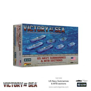 Warlord Games Victory at Sea  Victory at Sea Victory at Sea: US Navy Submarines & MTB sections - 743212005 - 5060572506824