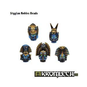 Kromlech   Heretic Legionary Conversion Parts Stygian Nobles Heads (10) - KRCB035 - 5902216110335