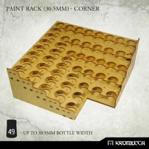 Kromlech   Paint Racks Paint Rack (30.5mm) - corner - KRMA077 - 5902216119499