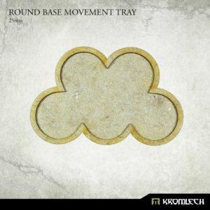 Kromlech   Movement Trays Round Base Movement Tray 25mm (6) - KRHB035 - 5902216119581