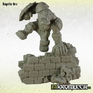 Kromlech   Kromlech Busts Kaptin Orc - KRBU002 - 5902216113138