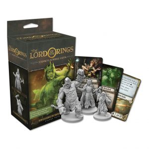 Fantasy Flight Games Journeys in Middle-earth  Lord of The Rings: Journeys in Middle-Earth Journeys in Middle-earth: Dwellers in Darkness - FFGJME07 -