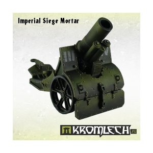 Kromlech   Imperial Guard Model Kits Imperial Siege Mortar - KRM026 - DUPLICATE BARCODE