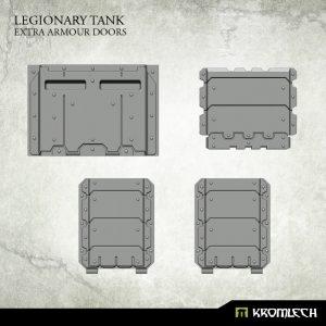 Kromlech   Vehicles & Vehicle Parts Legionary Tank: Extra Armour Doors - KRVB055 - 5902216117327