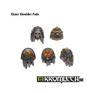Kromlech   Heretic Legionary Conversion Parts Chaos Shoulder Pads (10) - KRCB037 - 5902216110359