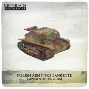 Kromlech   Vehicles & Vehicle Parts Polish Army TK3 Tankette - KHWW2016 - 5902216117662