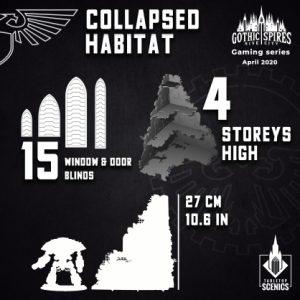 Kromlech   Kromlech Terrain Collapsed Habitat - KRTS126 - 5908291070069