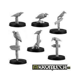 Kromlech   Basing Extras Birds of Prey (6) - KRBK007 - 5902216111899