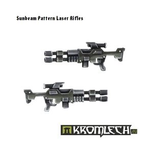 Kromlech   Misc / Weapons Conversion Parts Sunbeam Pattern Laser Rifles (10) - KRCB104 - 5902216111028