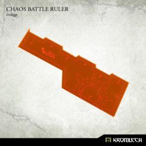 Kromlech   Tapes & Measuring Sticks Chaos Battle Ruler [orange] (1) - KRGA006 - 5902216114012