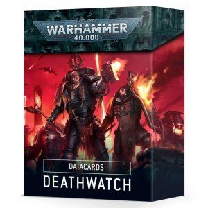 Games Workshop Warhammer 40,000  Deathwatch Datacards: Deathwatch - 60050109001 - 5011921134113