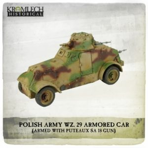 Kromlech   Vehicles & Vehicle Parts Polish Army wz. 29 Armored Car - KHWW2005 - 5902216118096