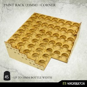 Kromlech   Paint Racks Paint Rack (33mm) - corner - KRMA075 - 5902216119475