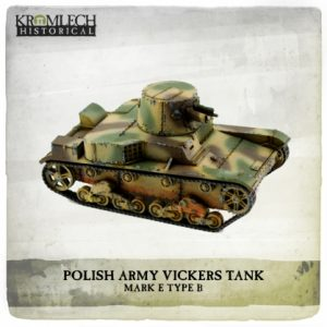 Kromlech   Vehicles & Vehicle Parts Polish Army Vickers Mark E Type B tank - KHWW2022 - 5902216119048