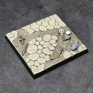 Baker Bases   Wasteland Wasteland Base WFB Style 50mm x1 - CB-WL-02-50M - CB-WL-02-50M