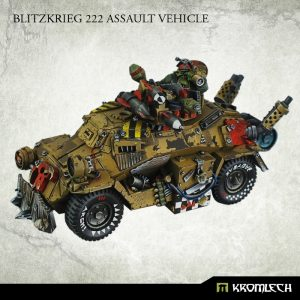 Kromlech   Orc Model Kits Blitzkrieg 222 Assault Vehicle - KRVB019 - 5902216113299