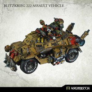 Kromlech   Orc Model Kits Blitzkrieg 222 Assault Vehicle - KRVB019 - 5902216113299