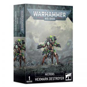 Games Workshop Warhammer 40,000  Necrons Necrons Hexmark Destroyer - 99120110048 - 5011921135196