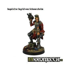 Kromlech   Imperial Guard Model Kits Inquisitor Ingrid Von Schwarzheim - KRM060 - 5902216112179