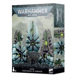 Games Workshop Warhammer 40,000  Necrons Necrons Convergence of Dominion - 99120110066 - 5011921141265