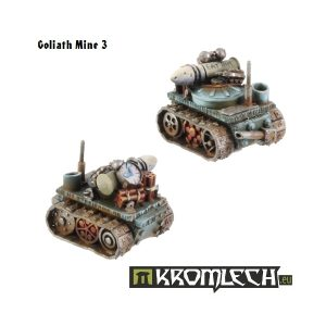 Kromlech   Orc Model Kits Orc Goliath Mines (2) - KRM010 - 5902216111356