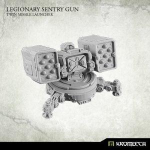 Kromlech   Legionary Model Kits Legionary Sentry Gun: Twin Missile Launcher (1) - KRM110 - 5902216114371