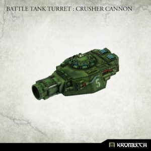 Kromlech   Imperial Guard Conversion Parts Battle Tank Turret: Crusher Cannon (1) - KRVB087 - 5902216119772